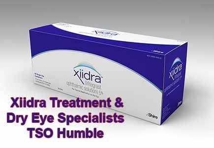Xiidra Dry Eye Treatment in Humble, TX