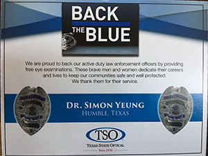Back the Blue TSO Humble